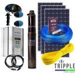 Omega Solar Pump 600W Combo