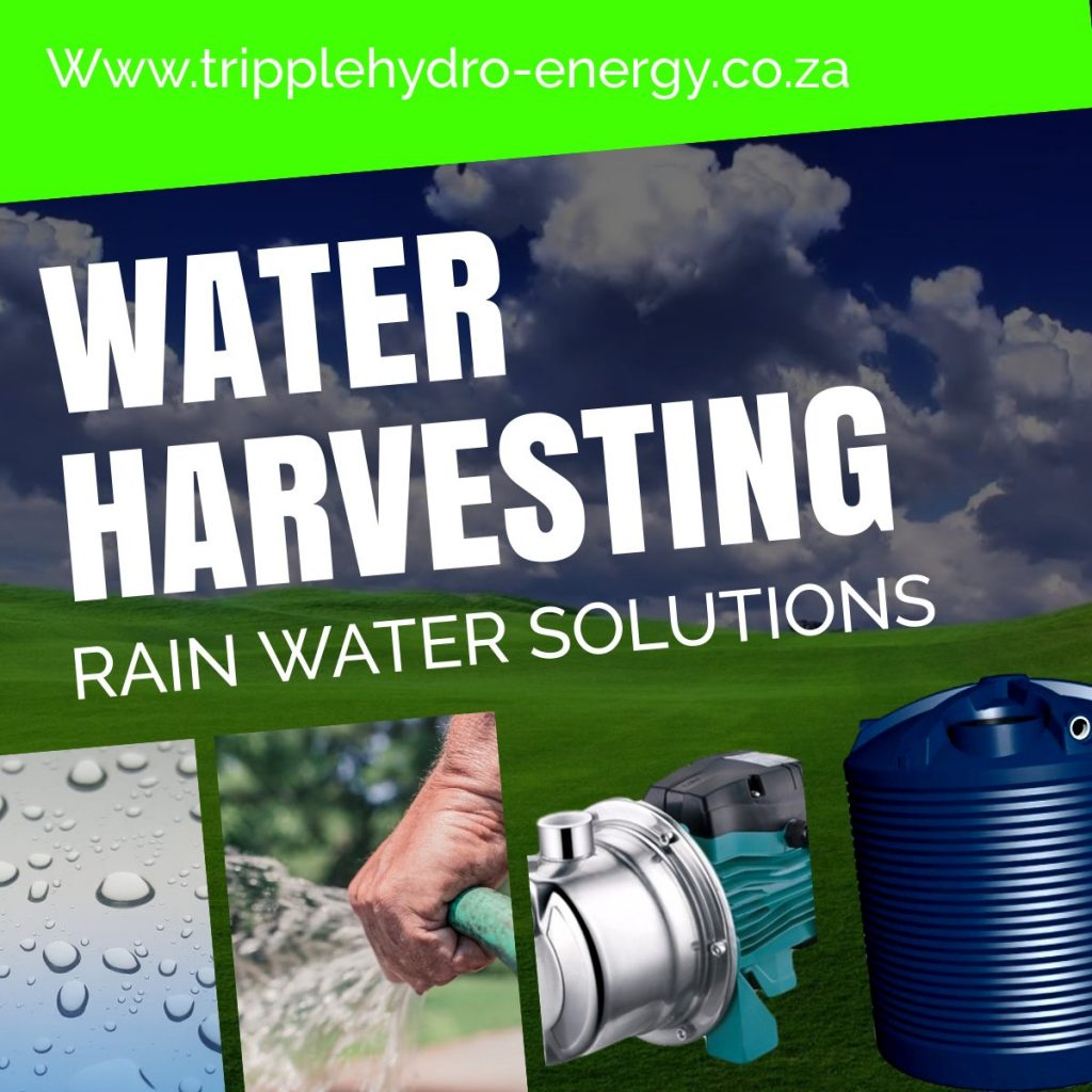 Rain Water Harvesting South Africa